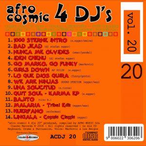 Afro Cosmic 4 DJs