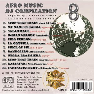 Afro Music DJ Compilation